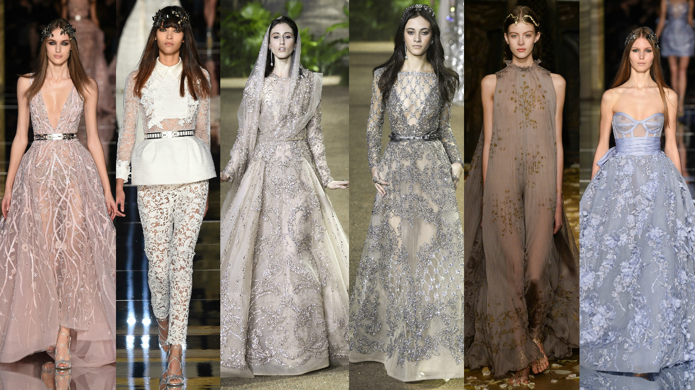 My favourite looks from the paris haute couture fashion for Haute couture houses 2016