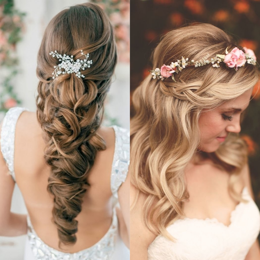 Trending Bridal Hairstyles In 2018 Fashionforroyals